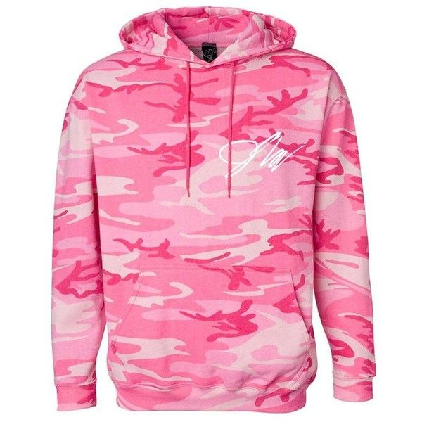 Jake Paul Camo Hoodie via Polyvore featuring tops, hoodies, jake paul, camo hooded sweatshirt, pink camouflage hoodies, hooded sweatshirt, camo hoodie and pink hooded sweatshirt