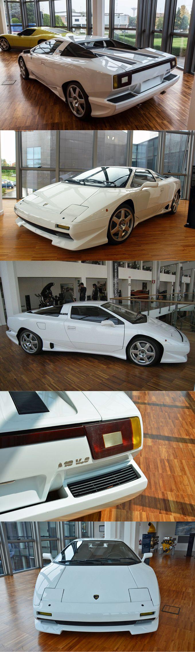 1987 Lamborghini P150 / Marcello Gandini @ Bertone / prototype Jalpa successor / 372hp 4.0l V10 / Italy / white / 7-360