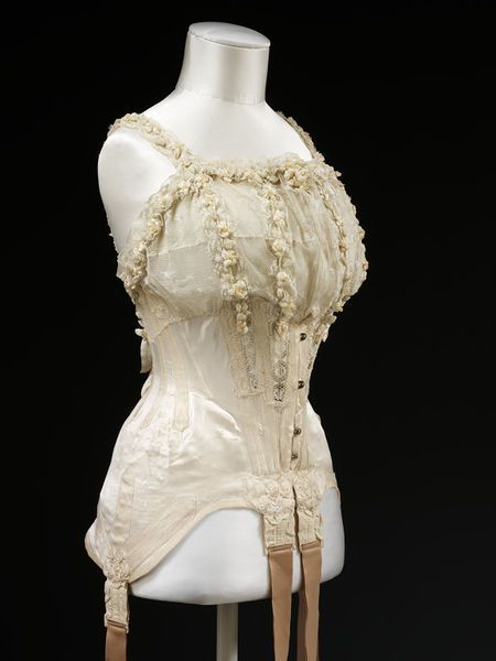 1000 images about pre 1920 lingerie on pinterest for Wedding dress corset bra