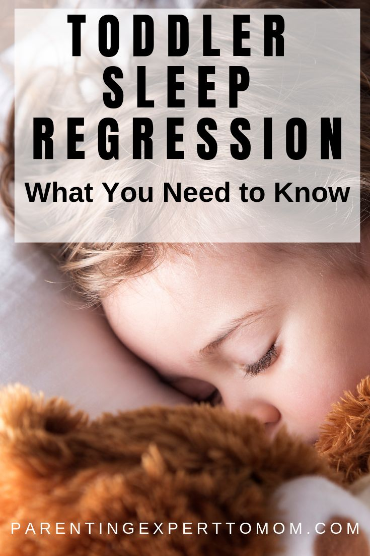 How to Survive the 2 Year Old Sleep Regression   Toddler ...