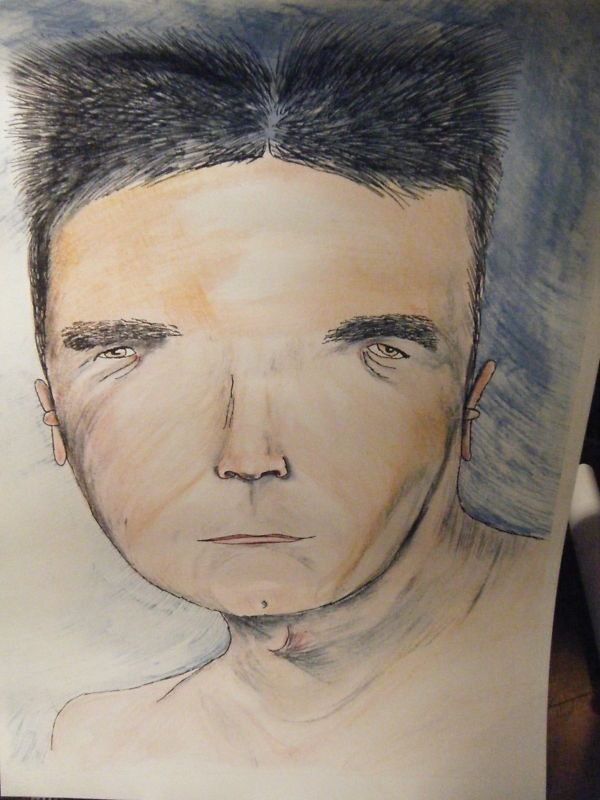 Simon Cowell by Vic Reeves