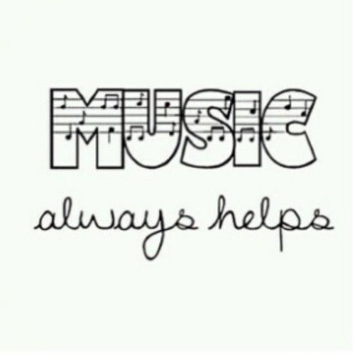 When you're down and troubled...MUSIC always Helps #RRM #MusicTherapy