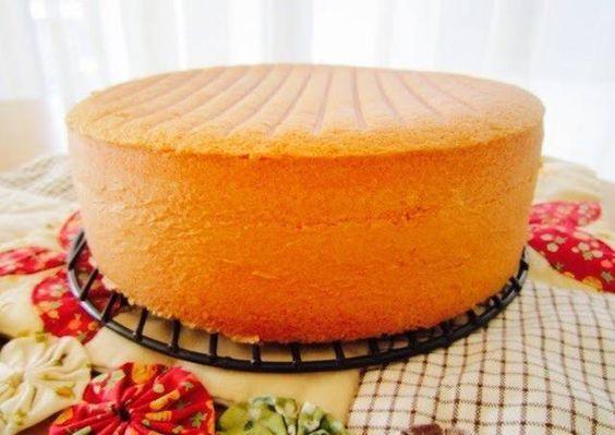 Fluffy Genoise Sponge Cake  See more http://recipesheaven.com/paleo