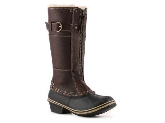 Women's Sorel Winter Fancy Snow Boot - Dark Brown