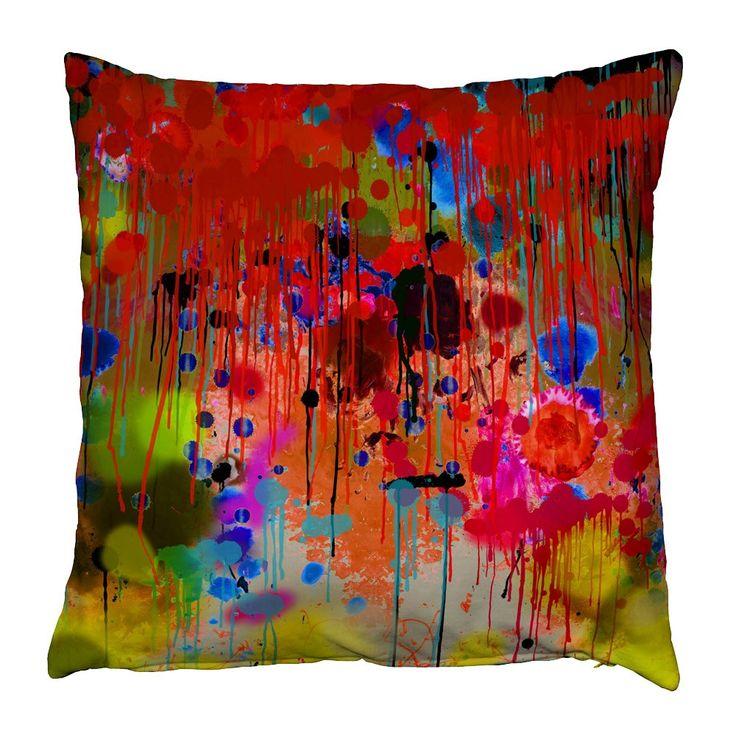 Timorous Beasties Graffiti Drips Cushion