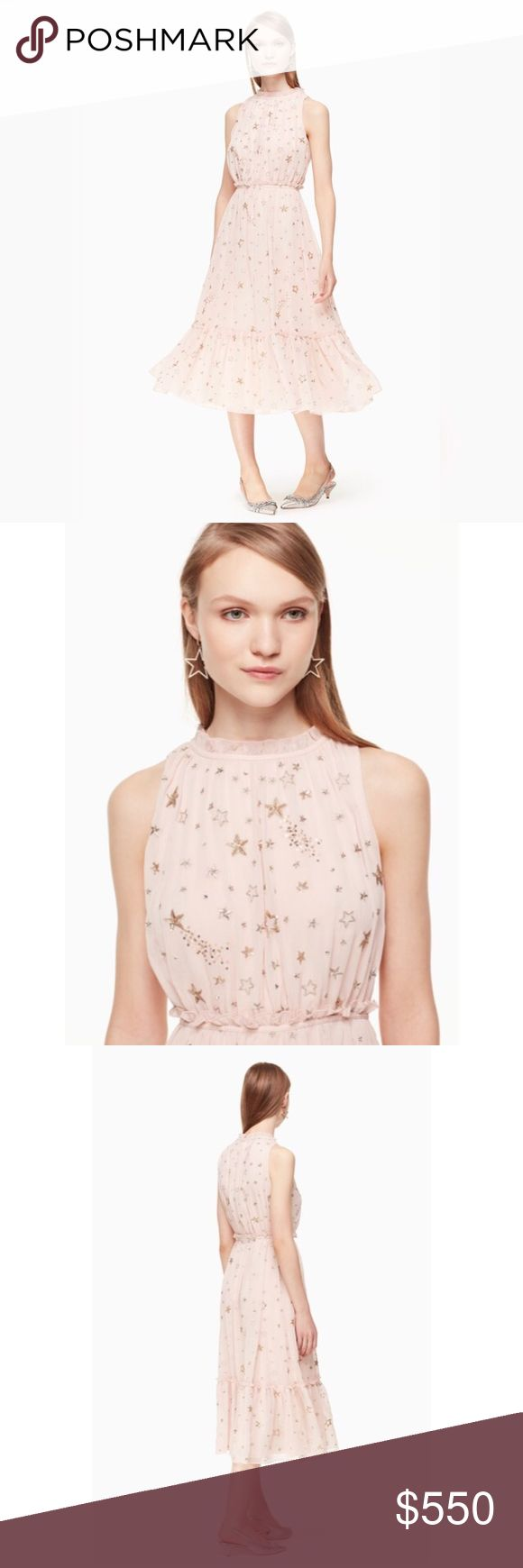 Kate Spade Madison Ave Amada Dress NWT Sz. 14 Kate Spade Madison Ave Amada Dress Size 14 NWT Color: Rose Dew  Retail $698  Please Remember Poshmark takes 20% of the price I have listed (you pay) I receive the rest. We make nothing off of shipping. Posh sets that rate!  *Please Note: Picture on the mannequin is not very flattering since the mannequin is so small, and this is a Size 14 dress. I have pulled it back several inches on the mannequin or it would just hang off of it.  🚨Price Is…
