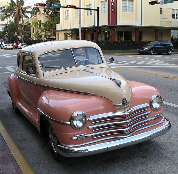 Plymouth Coupe 1948