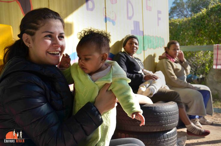 Service Learning - Childcare and aftercare. Edutours Africa