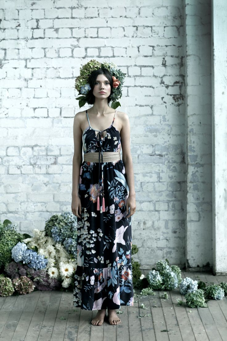 BRIONYMARSH//STYLE Floral print maxi dress The Lucia Dress Bohemian style Summer 12 www.brionymarsh.com