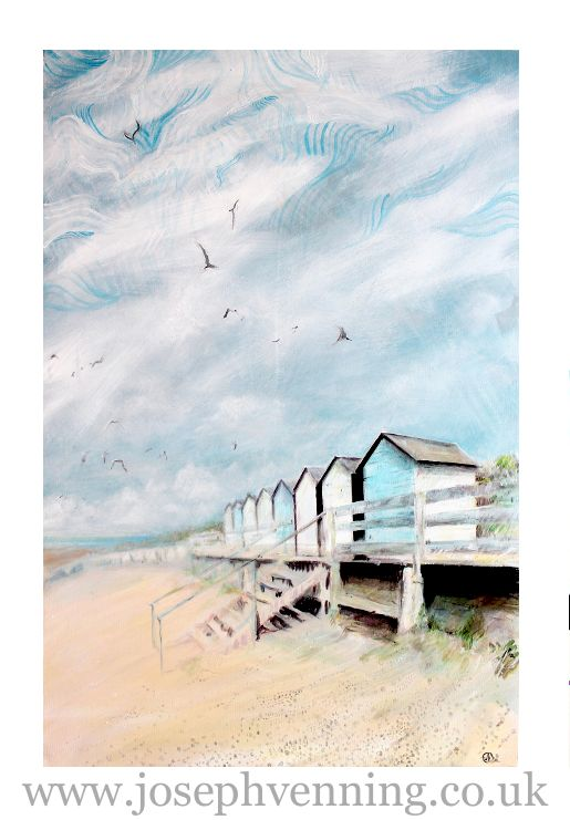 Endless Summer (Beach Huts), Acrylic on Canvas, Currently showing in Browns of Chester,Debenhams. Available in September 2012. Please contact me if you are interested in purchasing this painting. jvenning@live.co.uk www.josephvenning.co.uk