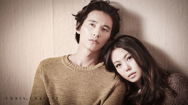 Kim Min-hee & Won Bin for Chris. Christy's Fall 2013 Campaign