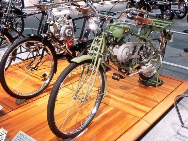 Very Old Honda Model A Concept Motorcycles (1940's)...