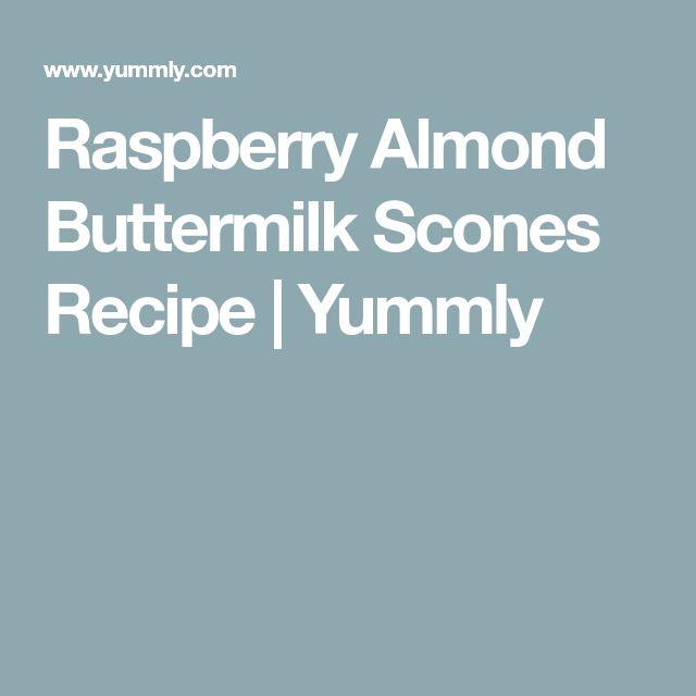 Raspberry Almond Buttermilk Scones Recipe   Yummly