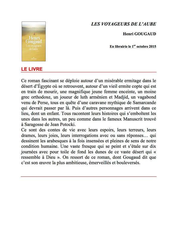 Actualité littéraire Henri Gougaud - Site de Henri Gougaud