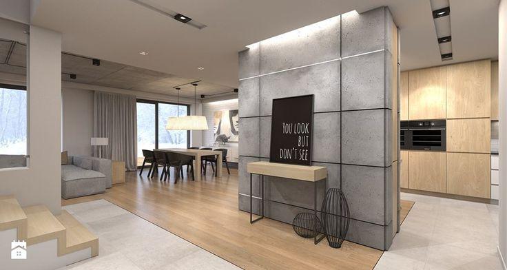 Dom jednorodzinny / Tarnowskie Góry - Hol / przedpokój - zdjęcie od A2 STUDIO pracownia architektury