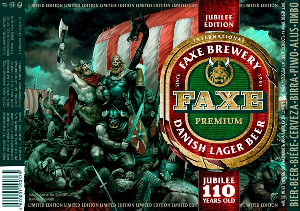 FAXE Beer Limited Edition on Behance