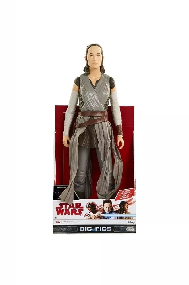 "Star Wars Big Figs Rey Episode VIII Action Figure 18/"" New"