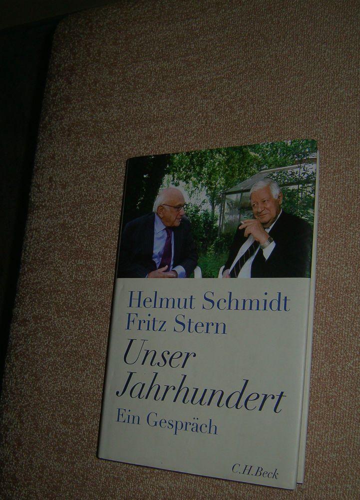 Unser Jahrhundert von Helmut Schmidt und Fritz Stern (2010, Gebundene Ausgabe)