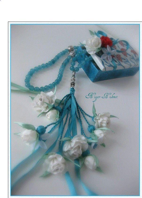 Nigar Hikmet, silk ribbon