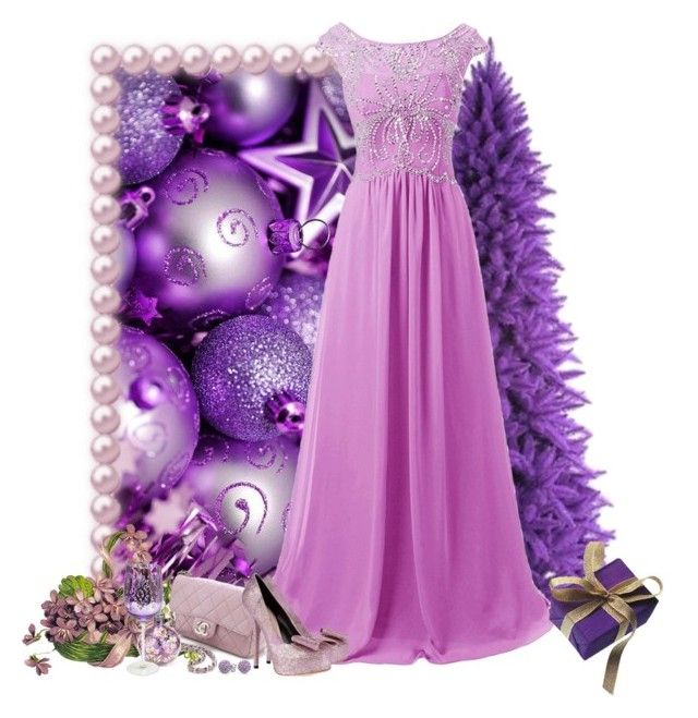 """""""natal roxo"""" by sil-engler ❤ liked on Polyvore featuring Vie Active, WGACA, Monsoon, Dolce&Gabbana and Bling Jewelry"""