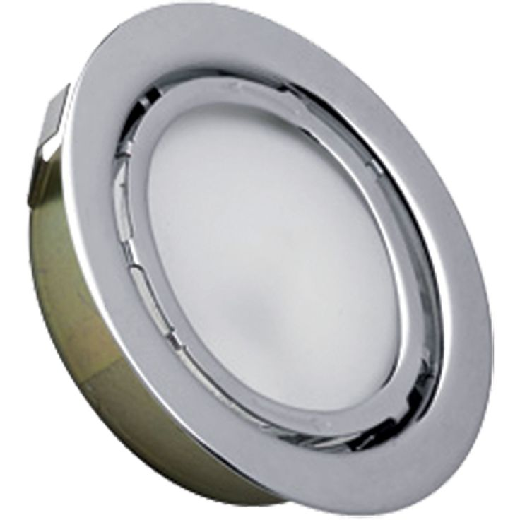Aurora 1-Light Recessed Disc Light in Stainless Steel | Cornerstone Lighting | Home Gallery Stores