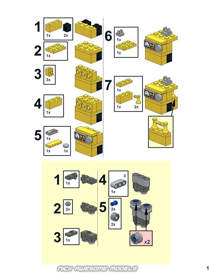 die besten 25 lego bauanleitungen kostenlos ideen auf pinterest lego lego anleitung und lego. Black Bedroom Furniture Sets. Home Design Ideas