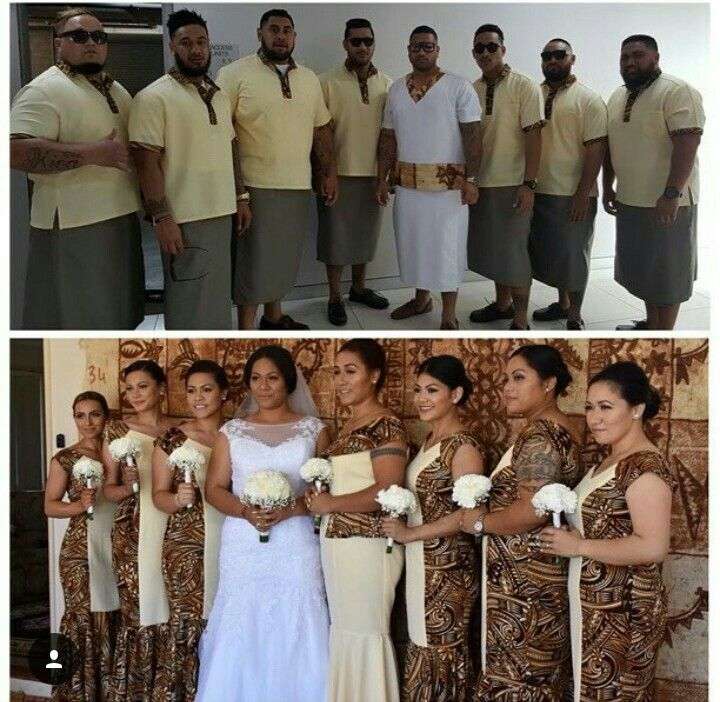 Samoan wedding