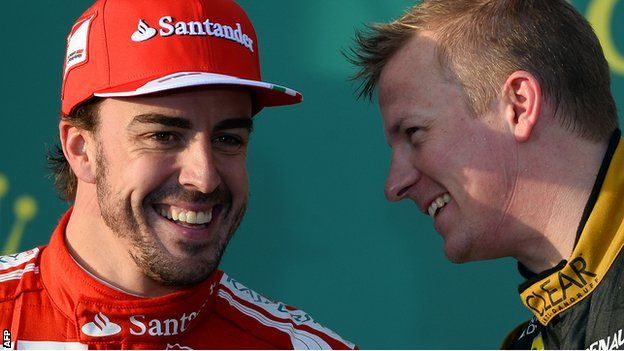 Who was really faster at Melbourne? Analysis - Fernando Alonso and Kimi Raikkonen