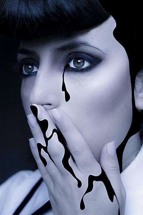 MUA: Diana Ionescu /  Artistic and Stage #theatrical #makeup
