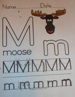 Great activities to go along with If you give a Moose a Muffin
