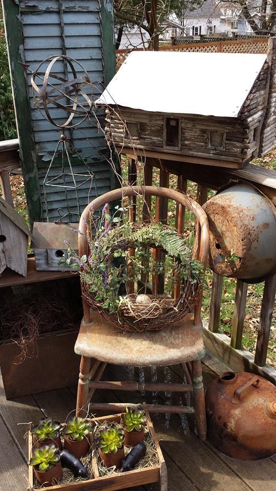 605 Best Images About Primitive Front Porches On Pinterest
