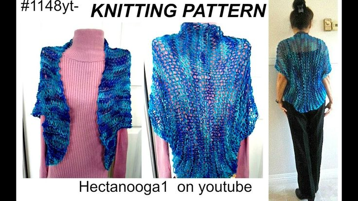 Shrug Knitting Patterns For Beginners : 17 Best ideas about Knit Shrug on Pinterest Shrug knitting pattern, Knit ca...