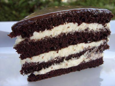 Csiperke blogja: Mogyoróvajas brownie torta