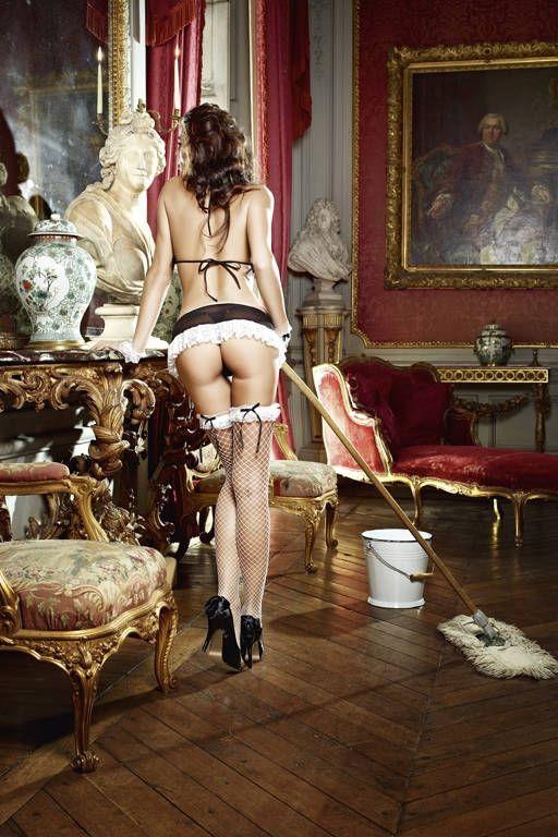 Комплект сексуальной горничной, Baci Lingerie