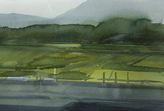 kjell ekström akvareller från Vietnam
