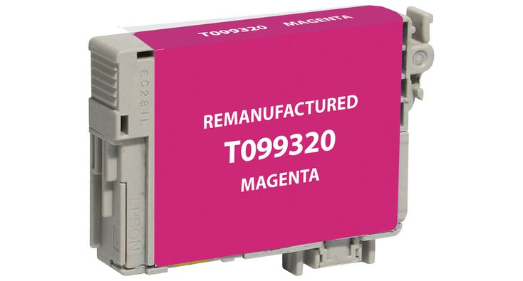 Buy T0993 (T099320) Magenta Ink Cartridge for Epson at Houseofinks.com. We offer to save 30-70% on ink and toner cartridges. 100% Satisfaction Guarantee.