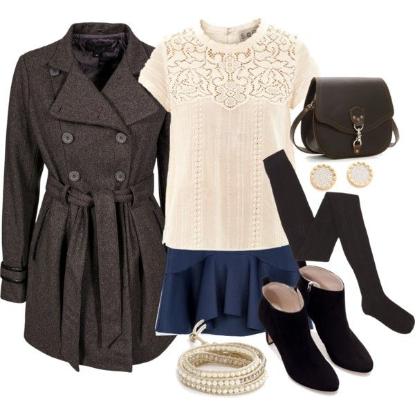 """""""Allison Inspired Winter High Tea Outfit"""" by veterization on Polyvore"""
