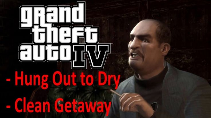 GTA IV movie: E4 Hung Out to Dry - Clean Getaway