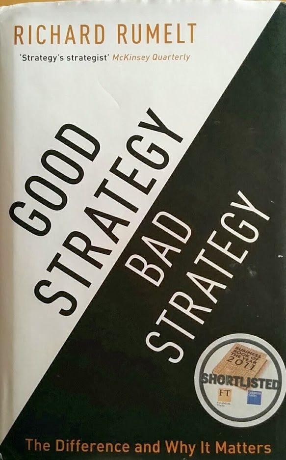 Mi favorito de 2013. la primera vez que un libro de no ficción (con permiso de anatomía de un instante) se mete en esta lista. Un libro de gestión magistral. http://www.soybuscador.com/2013/12/good-strategy-bad-strategy-richard.html