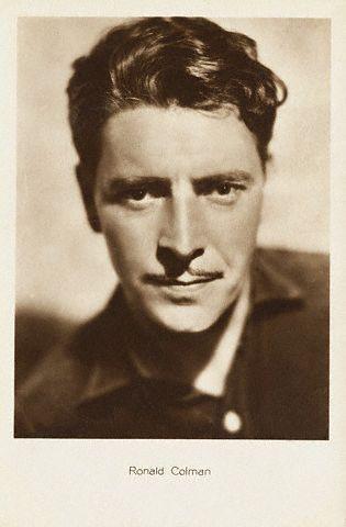 Ronald Colman Films | Ronald Colman | Movies: Men Of Hollywood - Ronald Colman | Pinterest