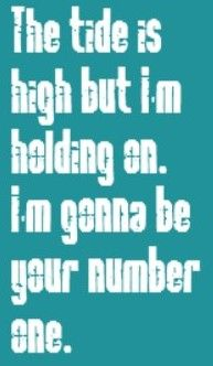 Blondie - The Tide is High - song lyrics, song quotes, songs, music lyrics, music quotes,