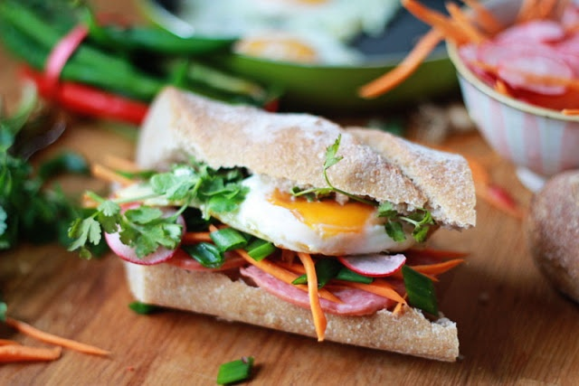 """Banh Mi - Varianta Mea ~ Le Blog Piquant 