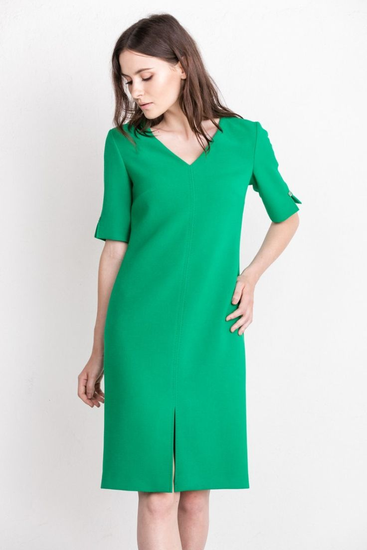 Styling with green dress