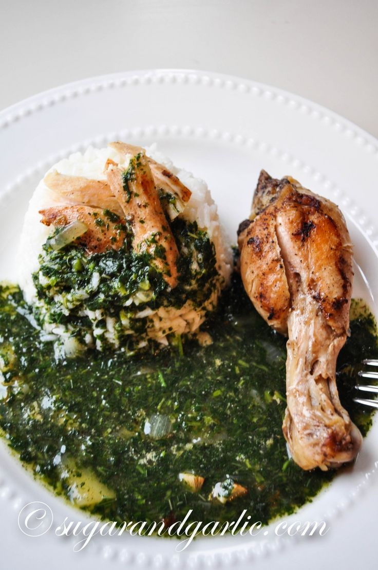 molokhia with chicken
