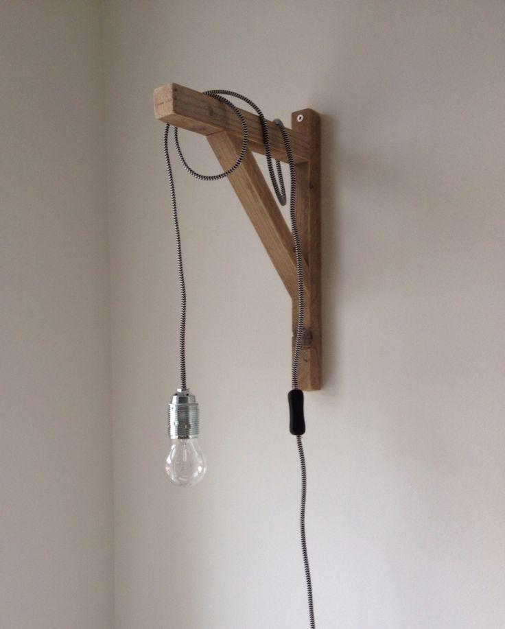 Homemade #strijkijzersnoer #lamp