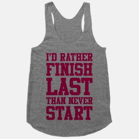 Amen! 2014 I will do my first run and I will do it for me and only me! I can't wait. Starting small but starting! That's the point!!