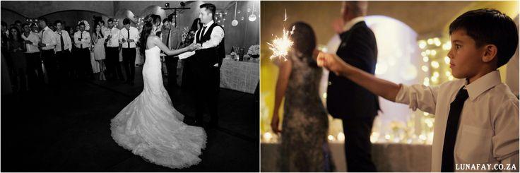 Elegant White wedding, french touch, Wedding Photography South Africa, lunafay.co.za Wedding Sparkler detail