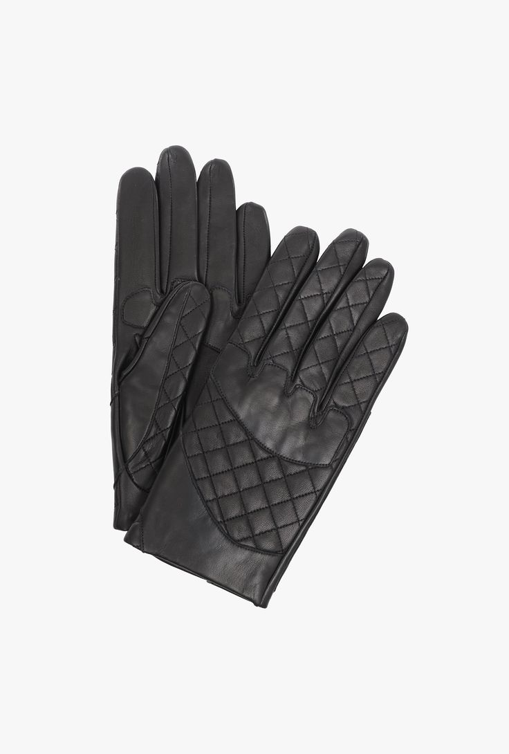 Very mens gloves - Quilted Leather Gloves Mens Gloves Balmain