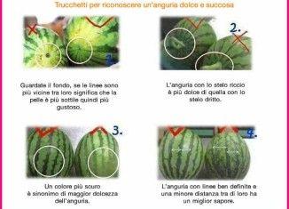 Come capire se l' anguria è dolce
