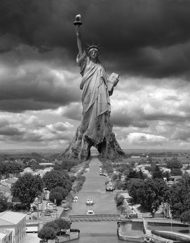 Statue Of Libery Of Thomas Barbey